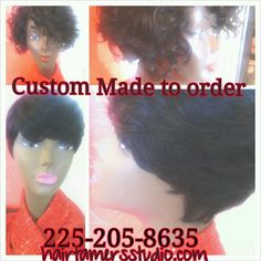 #custom #made #wigs #cute #styles and #cuts