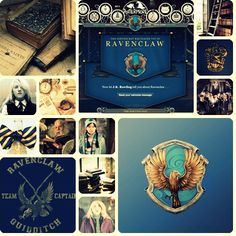 ravenclaw //Ani Oakley: I was sorted by the sorting hat at the Harry Potter Expo and I got Ravenclaw//