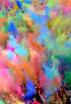 would love to participate in Holi, the festival of colors and love