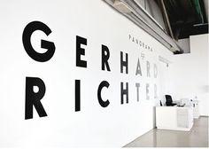 Gerhard Richter   Vinyl Signage