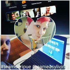 Was ist gerade😊 jaaaaa Freitag Abend🤗🤗🤗 was gibt's da beim #teamdoripue #teameasyliving jaaaa die wöchentliche Skype Schulung 💪💪💪💪💪📲📲📲 und sie war wieder SPITZE....Leitung mit Woifi perfekt wie immer.....a ich liebe diese Schulungen😉☺☺☺💪💪☺👍👍👍👍 Jaaaa, Simple Living, Dory, Motivation, Friday, Lace, Love, The Simple Life, Inspiration