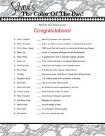 Anniversary Party Games...pin now, read later. Maybe fun one evening on the trip?