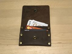 Mens leather wallet leather wallet small wallet credit card