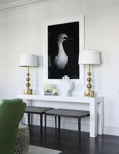 We love Parsons Tables! Do you know the what's, who's and where's of the Parsons Table design? Click to find out and be inspired by this table's visual impact and versatility in design!