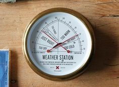 The Weather Station — ACCESSORIES -- Better Living Through Design