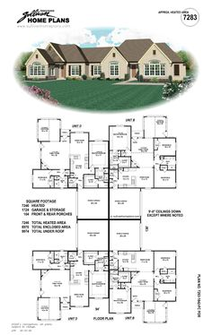 1000 Images About Real Estate On Pinterest House Plans