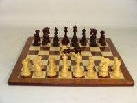 Bud Rosewood Parthenon Padauk Maple Chess Set