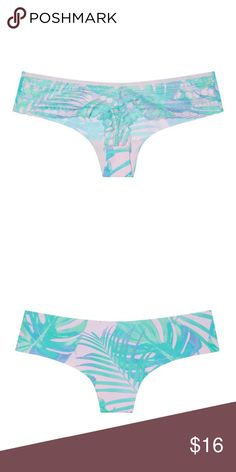 82fa685fe8ac VS PINK Lace Back Thong Panty NWT. Victoria's Secret PINK dot lace back thong  panty