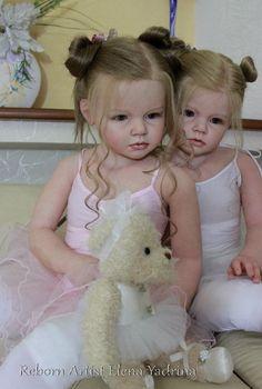 А теперь покажемся в образе девочек-балеринок) Спасибо, что вытерпели наш шквал фото))) Вы можете купить куклы реборн в Шопике