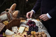 Wimbledon Autumn Wedding Inspiration - Wedding Food - Eva Tarnok Photography