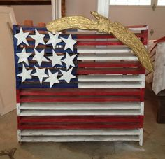 American Flag Antique Barn Vent by ReclaimedAmerica on Etsy, $800.00