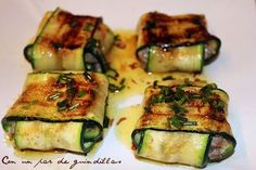 Irish Recipes, Italian Recipes, Food Decoration, Health And Nutrition, Tapas, Ham, Zucchini, Catering, Healthy Lifestyle