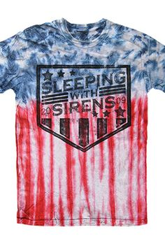 Sleeping With Sirens | Merch Store - Americana Tee