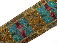 Orientalische Borte in verschiedenen Farben, lfm, 95mm breit (B134) | eBay