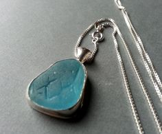 Sea Glass Necklace Sea Glass Jewelry by JulieAndersonDesign, $110.00