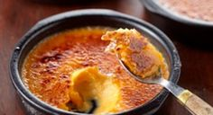 Zoete aardappel: Crème brûlée