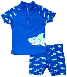Playshoes Boy's UV Sun Protection Shark Collection Two Piece Swimsuit - with it mom Baby Driver, Tumblr Sweatshirts, Hoodies, Baby Taube, Baby Metal, Bad Set, Thing 1, Hai, Discount Beauty