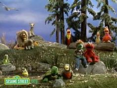 Sesame Street: We Are All Earthlings. Awesome message! I ♥ Jim Henson!