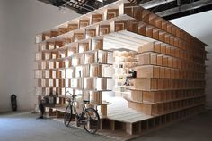 Make Yourself at Home in This Giant Bookshelf