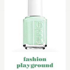 Essie Fashion Playground Plucky pistachio shimmer Essie Makeup
