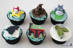 Cupcakes frikys de Catcakes