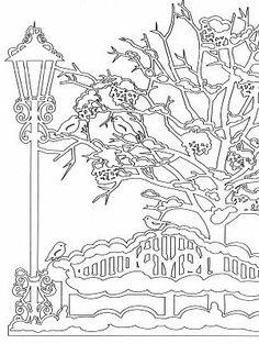 Рада приветствовать Вас дорогие жители СМ! В приближении Нового года, чтобы окно не выглядело пустым, вырезала несколько зимних изображений. фото 7 Christmas Decals, Christmas Crafts, Christmas Decorations, Christmas Ornaments, Kirigami, Paper Plate Crafts For Kids, Paper Crafts, Christmas Ornament Template, Love Silhouette