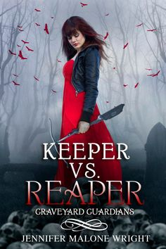 Keeper VS Reaper author Jennifer Malone Wright book cover by Regina Wamba of Mae I Design and Photography, book cover model Talia,  www.maeidesign.com for more book covers, graphic design and photography