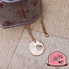 Duo de collares In My Heart Washer Necklace, Pendant Necklace, En Stock, Ladybug, Bugs, Jewelry, Fashion, Chokers, Necklaces