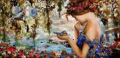 Carolina Serpa Marques, 1966 ~ Figurative painter | Tutt'Art@ | Pittura * Scultura * Poesia * Musica |