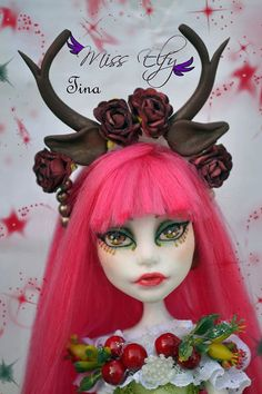 OOAK Monster High Tina / poupée customisée de par MissElfy sur Etsy