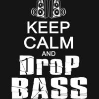 Keep Calm and Drop Bass DJ Club Party Rave Urban T-Shirt Your Choice of S,M,L,XL,2XL,3XL