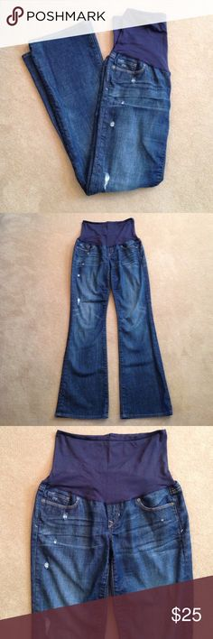 Maternity jeans, stretch, great condition! Maternity jeans with ...