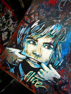 Alice Pasquini - Amsterdam by AliCè, via Flickr