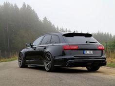 Audi RS6 Avant - Black