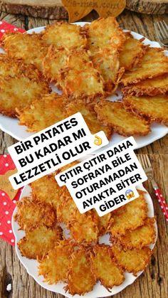 Breakfast Recipes, Snack Recipes, Cooking Recipes, Snacks, Beignets, Saffron Cake, Crispy Chips, Turkish Recipes, Ethnic Recipes