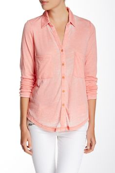 Everyday Long Sleeve Blouse by Alternative on @HauteLook