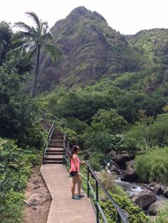 Iao Valley State Park is more like a scenic nature walk for beginners along a paved walk with a few stairs. The whole thing takes about 20-30 minutes tops and you get a peek at the lush Hawaiian landscape in this historic valley. Parking is $5 and there are restrooms on-site. Travel Guide: Maui, Hawaii - This Beautiful Day