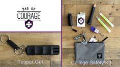 Pepper Spray (Gel) - College Safety Self Defense Tools - Be Prepared