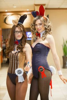 Sweet fem dom bunny costume compilation cosplay playboy bunny tmb