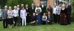 Hochzeitsgesellschaft nach dem Standesamt