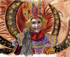 Indonesia lady (Malang Flower Carnival) Wonderful Indonesia