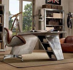 aluminum furniture unique design office desk