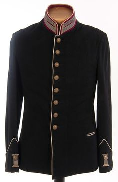 Imperial Russian military tunic, circa 1900.