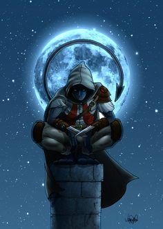 ArtStation - Assassin Nightcrawler, Victor Leite