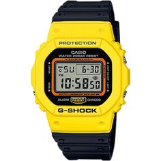 G Shock Colour Block Dw5600 Watch (10.275 RUB) ❤ liked on Polyvore featuring men's fashion, men's jewelry, men's watches, accessories, men, watches, mens digital watches, mens watches jewelry, mens yellow watches and mens water resistant watches