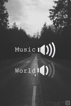 Resultado de imagem para music:on World:off