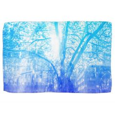 Vernal Tree Towels