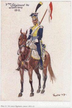 7th Lancer Regiment 1811-12 7e Régiment de Lanciers 1812
