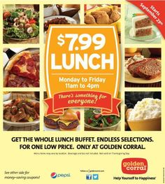 34 best golden corral coupons images on pinterest golden corral rh pinterest com golden corral buffet coupons 2017 golden corral buffet coupons printable