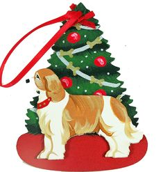 Cavalier King Charles Spaniel Christmas Ornament - Dogs – For the Love Of Dogs - Shopping for a Cause